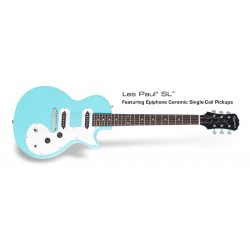 Epiphone Les Paul SL Turquoise