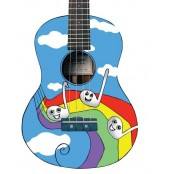 Morgan Ukulele Sopraan UK-100 Rainbow