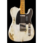Fender Custom Shop 52 Telecaster Heavy Relic White Blonde MN