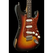 Fender Custom shop 63 strat relic 3tsb ash body 2015 used