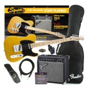 Fender Squier Tele starterspack Affinity Frontman 15G amp BB