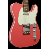 Fender Custom Shop Tele 61 Journeyman Relic Fiesta Red Top Bound GER15-319