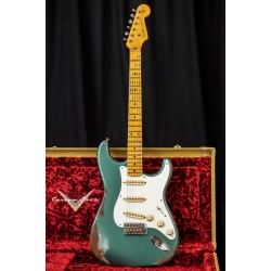 Fender Custom Shop 56 Strat Heavy Relic Sherwood Green Mn