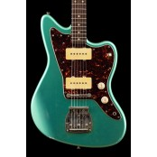 Kauffmann Guitars 63 J-model relic sherwood green rw 9.5 radius