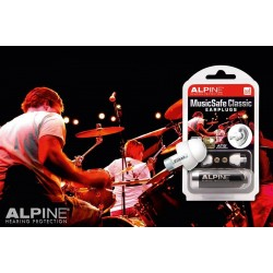 Alpine MusicSafe Classic, Unique Earplugs