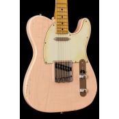 Kauffmann Guitars 56 T-model relic Ash, Shell Pink