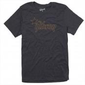 Gibson Star Logo Tee Charcoal Large