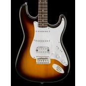 Squier Bullet Strat HSS with Tremolo LRL Fingerboard Brown Sunburst