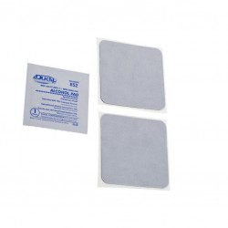 Temple medium plate adhesive pads (2x)