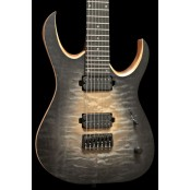 Mayones Duvell Elite 7 Trans Natural Fade Black Burst