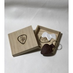 ChickenPicks Wooden Box Incl 3 Picks and Pickholder