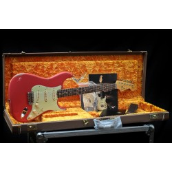 Fender Custom Shop 63 Strat Relic RW Fiesta Red