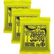 Ernie Ball Regular Slinky 10-46  3pack
