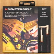 Monster Cable Monster Rock 21ft Angled to Straight