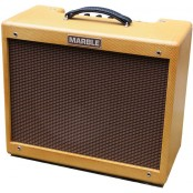 Marble Bluebird met 112 Celestion Alnico Gold Inclusief Boost Footswitch