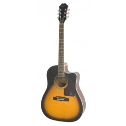 Epiphone gitaar folk AJ-220SCE solid top VS