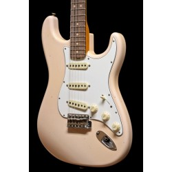 Fender Custom Shop 64 Strat RW Super Faded/Aged Shell Pink 2018 NAMM LTD
