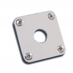 Gibson Metal Jack Plate (Nickel)