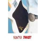 Scratch pad guitar finish protector met rood guitarking logo