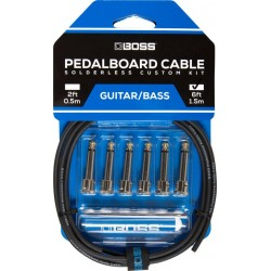 Boss Pedalboard Cable Kit 6ft