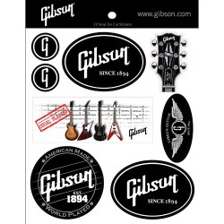 Gibson Sticker Pack nr1