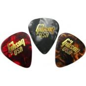 Gibson Zeldzame Set van 3 Vintage Plectrums