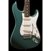 Fender Custom Shop 60s Duo Tone Strat Relic 2012 Sherwood Green USED