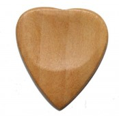 Madagascar Handcarved Plectrum Neobeguea Heart