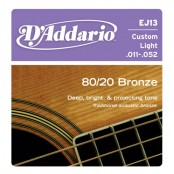D'Addario snaren Bronze Custom Light EJ13