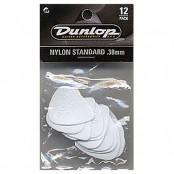 Dunlop plectrum nylon standaard .38mm 12pack