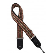 Gaucho gitaarband jacguard weave multi colours 05