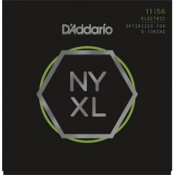 D'Addario Electric Strings Medium Top-XHeavy Bottem 11-56