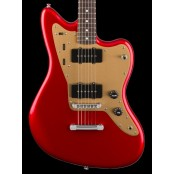 Squier Deluxe Jazzmaster Stoptail RW Candy Apple Red