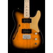 Squier Paranormal Cabronita Telecaster Thinline, Maple Fingerboard, Gold Anodized Pickguard, 2-Color