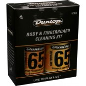Dunlop 6503 Body and Fingerboard Care Kit met Polish Cloth