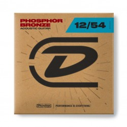 Dunlop Akoestishe snaren Phosphor Bronze 12-54