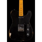 Fender Custom Shop #9 LTD roasted pine double Esquire - relic, aged black preorder