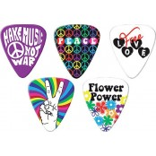 Grover Allman 5pack multi hippie picks