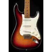 Suhr Classic S Antique LTD (4 pcs worldwide) Roasted Flame Neck, Nitro/Nickel, Three Tone Sunburst