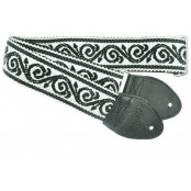 Souldier gitaarband Scroll Black/White