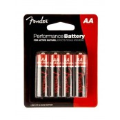 Fender AA batterij 4stuks for active guitars, pedals etc