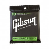 Gibson Masterbuilt Premium Acoustic Strings, Phosphor Bronze (Mediums)