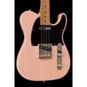 Suhr Classic T  Paulownia EU LTD, Trans Shell Pink Roasted MN