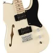 Squier Paranormal Carbronita Telecaster Thinline Olympic White