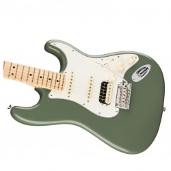 Fender American Pro Stratocaster HSS Shawbucker MN Antique Olive