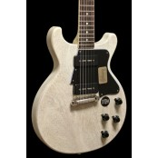 Gibson Custom Les Paul Special Double Cut TV White NH Incl Case