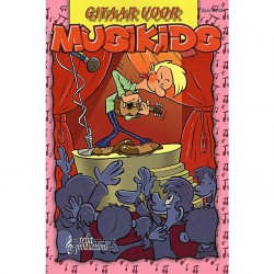 Musikids Klassieke Kindergitaar GP-1 boek/plectrum naturel