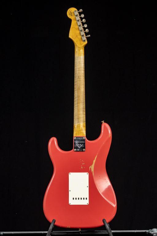 Fender Custom Shop 64 Strat Relic Faded Fiesta Red NAMM Ltd