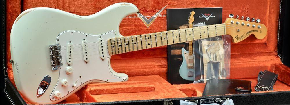 Fender Custom Shop 68 Strat Relic, Maple Fingerboard, Aged